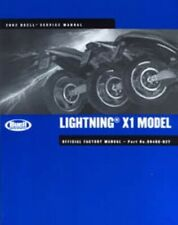 2002 Buell Lightning X1 Motorcycle Service Manual : 99490-02Y