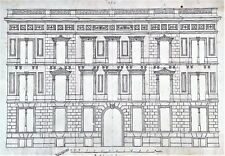 GREAT PALACE PROJECT IN BARCELONA. INK ON PAPER. JOAQUIN CARCERENY. SPAIN. XIXTH