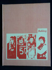 1974 Bulldog Bradshaw High School Bradshaw Nebraska Year Book
