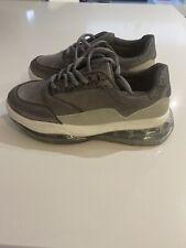 Zapatillas Suela de Cuña Grueso Para Mujer Talla 40 Reino Unido 7