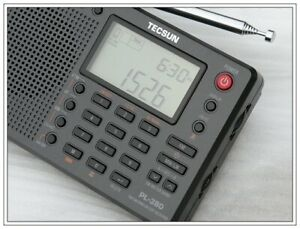 New TECSUN PL-380 DSP with ETM PLL WORLD BAND RADIO PL380 radio