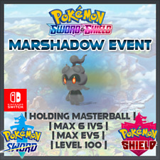 Marshadow Event | Pokemon Sword & Shield | 6IVS | Level 100 | Competitive