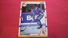 1990 Score Traded Mats Sundin Rookie RC #100T Nordiques