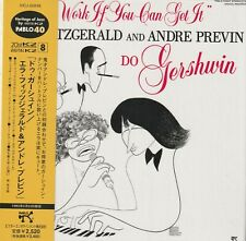 ELLA FITZGERALD AND ANDRE PREVIN - DO GERSHWIN. JAPAN.MINI-LP SLEEVE.REMASTER