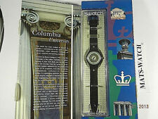SWATCH-SPECIAL+SAN108PACK COLUMBIA UNIVERSITY+USA ONLY+NEU/NEW