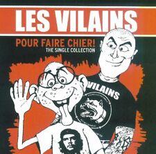 "Les Vilains-Pour Faire Chier!Single Collection ""CD"" Oi!Oi!Oi! Skin Way of Life"