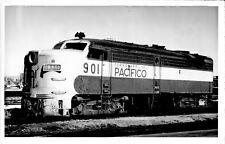 1983 Ferrocarril Del Pacifico Train #901 6x4 Photo X2200S Mexico FREE SHIP