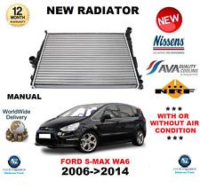 für Ford S Max Wa6 Kühler 2006-2014 MPV Handbuch 1.6 1.8 2.0 2.2 2.5 OE-Qualität