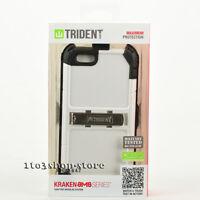 Trident Kraken AMS iPhone 6 iPhone 6s Hard Shell Case w/Holster Belt Clip White