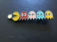 PAC-MAN New BELT BUCKLE Metal PacMan Blinky Pinky Inky Clyde Ghosts