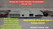 projector epson powerlite 1776W 3000 lumens 3LCD WXGA