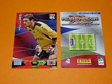 HUGO LLORIS OLYMPIQUE LYON OL FOOTBALL FOOT ADRENALYN CARD PANINI 2010-2011