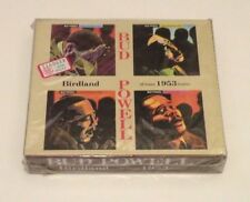 BUD POWELL - BIRDLAND 1953 ALL SEASON SESSIONS - JAPAN BOX 2 CD 1994 VENUS - NEW