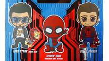 Marvel Hot Toys Spider-man Homecoming Peter Parker & Tony Stark Cosbaby Set of 3
