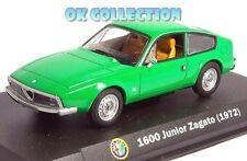 1:43 ALFA ROMEO 1600 JUNIOR ZAGATO - 1972 _ (19) + COPERCHIO BOX RIGIDO