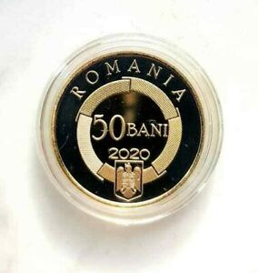 ROMANIA 50 bani 2020 coin Rumänien ROMANIAN organisation Francophonie 2021 RARE