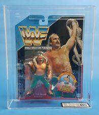 Antiguo ☆ Jake la serpiente UKG 80% graduales WWF HASBRO figura ☆ Moc WWE Serie 1