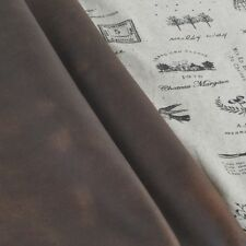Scrap genuine leather about 2mm piece cowhide vintage   ( 8.7 * 12.7 inch)  YT08