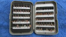 SAMEO  FLY BOX  (3) WITH SMALL DRY FLIES