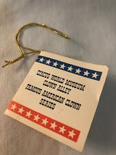 Flambro Hang Tag Only Clown Alley Famous American Series Circus World Museum