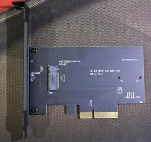 Up to 2700M/s M.2 PCIE SSD to PCI-E 4X Adapter SM951 950Pro for WIN or MAC Pro
