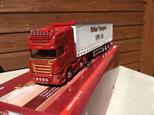 Corgi Modern Truck Heavy Haulage CC13737 Scania Curtainside Parker Transport1/50