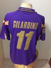 Maglia Fiorentina 2010 11 Nr 11 Gilardino match worn shirt jersey camisa Italy
