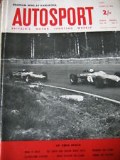 Autosport August 14th 1964 *Enna F2 Race & Karlskoga & Iso Grifo & Jensen C-V8*