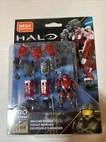 MEGA Construx - Halo Micro Action Figure Set - BREACHER EXOSUIT (89 Pieces)