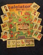 Mancoliste album figurine calciatori 1981/82 da recupero a soli €0,30