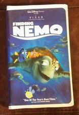 Walt Disney/ Pixar Film- Finding Nemo (Vhs, 2003) Clamshell