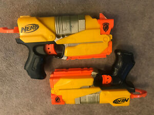Nerf Pair Of Pistols Fully Working