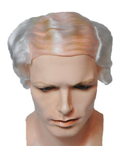 BALD COMB OVER WIG WHITE OLD MAN