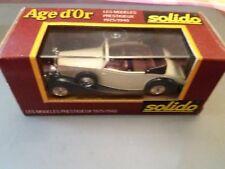 MODELLINO AUTO AGE D'OR SOLIDO 1/43 NUOVO ROLLS ROYCE 71 CABRIO