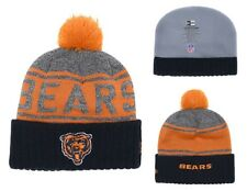 buy popular b4db2 9b93d 2018 Chicago Bears New Era NFL Knit Hat On Field Sideline Beanie Hat