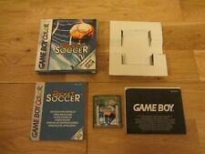 POCKET SOCCER BOXED COMPLETE & MANUAL GAMEBOY COLOR GAME UK PAL