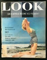 LOOK MAGAZINE - June 12 1956 - ROCKEFELLER DIET / Princess Margaret / Joe Louis