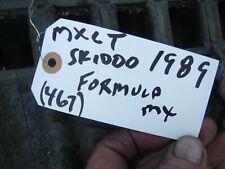 1989 skidoo formula Mxlt 467 snow parts: Track 16.5 x 124 x 1.97 pitch w 63 wind