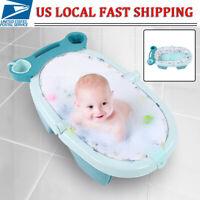 Baby Shower Bath Portable Bathtub Infant Newborn Bathing Folding Safety Tub NEW