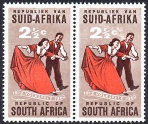South Africa 1962 Folk Dancing, SMOKING DANCER VARIETY, SG.221, UM