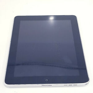 "Apple iPad 1st Gen A1337 3G 16GB 9.7"" 256MB Ram SOLD AS IS/ Stuck at logo"