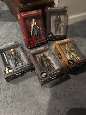 GAME OF THRONES LEGACY COLLECTION Lot Of 5 Robb, Brienne, Jaime, Arya, Daenerys