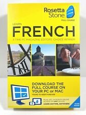 Rosetta Stone - French Full Course Online Subscription with Download
