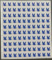 USA Briefmarken Bogen 100x 3 Cent 1994 G Rate make-up stamp #30670-S