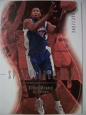2003-04 SP AUTHENTIC ELTON BRAND # 109  CLIPPERS !!! BOX # 33
