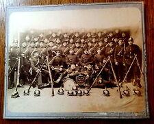 großes Foto Soldaten, Ausrüstung Pickelhaube II.Compagnie Jahrgang 87 Sachsen