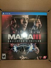 Mafia III 3: Collectors Edition Sony PlayStation 4, 2016 BRAND NEW SEALED