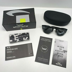 Gloryfy Gi16 Headliner Unbreakable Sunglasses Eyewear Black & White Matt Large