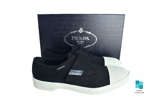 New in Box Authentic PRADA Mens Shoes Sz US9 EU42 UK8 Model 2OG062