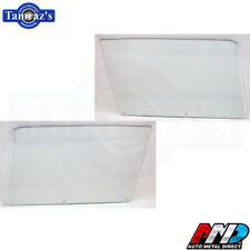 68-70 Mopar B Body Door Glass Clear Pair Lh Rh Hardtop New Amd